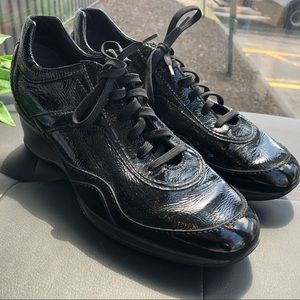 Tod's patent leather sneakers - like new!
